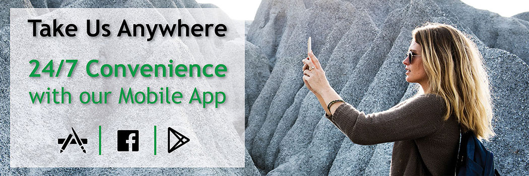 Take us anywhere with our mobile app